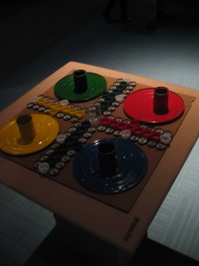 Board Game made from recycled materials