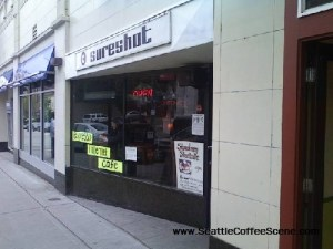 sure shot - seattle coffee shops