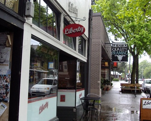 Seattle Coffee & Bourbon: Liberty Espresso on 15th Ave