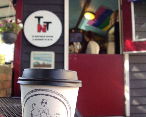 Who's The One Percent? TNT Espresso, Capitol Hill – That's Who.