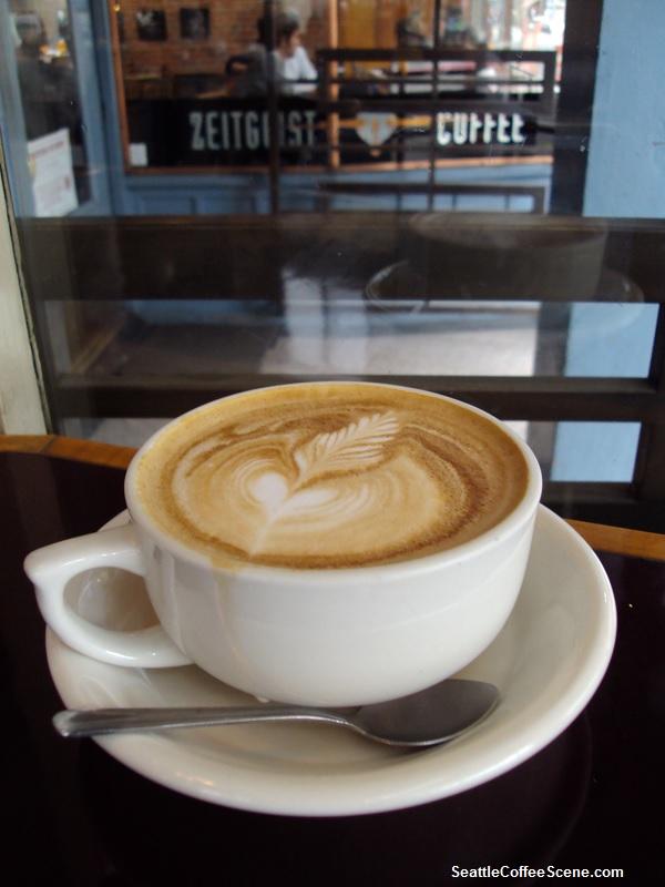 Seattle Coffee Scene - Zeitgeist Coffee