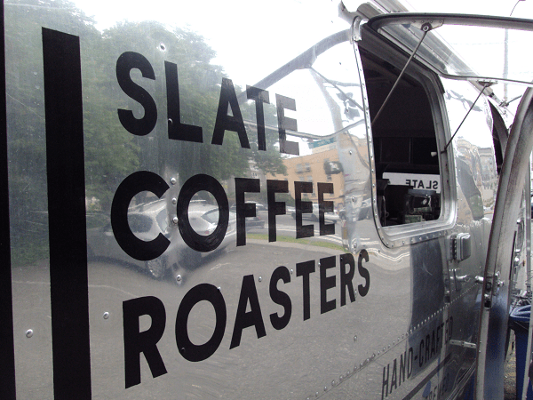 seattle coffee - airstream trailer - slate coffee