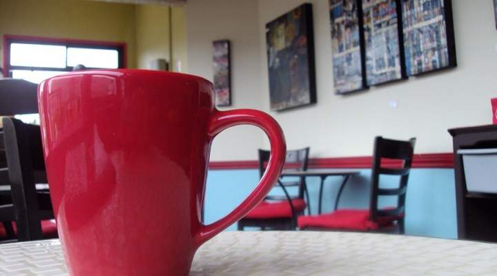Exploring West Seattle – The Red Cup Espresso & Drive Thru