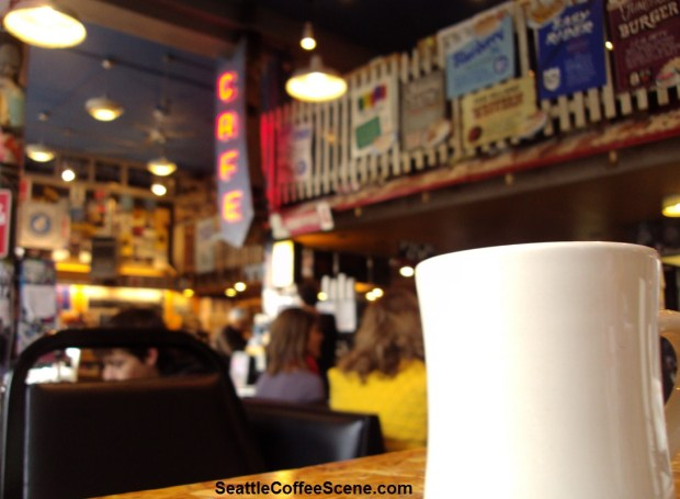 Seattle Coffee - Easy Street Cafe West Seattle