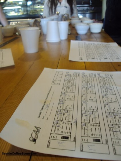 coffee cupping, coffee cuppings in seattle