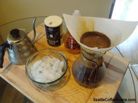 The best way to clean a chemex, chemex