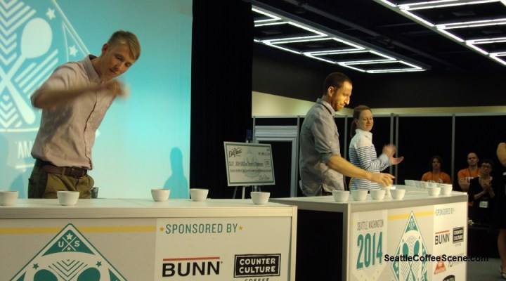 Coffee Podcast: The 2014 US Cup Tasters Championship in Seattle is Settled