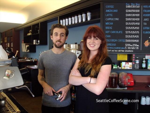 Seattle Coffee, Bauhaus Coffee, Ballard Coffee