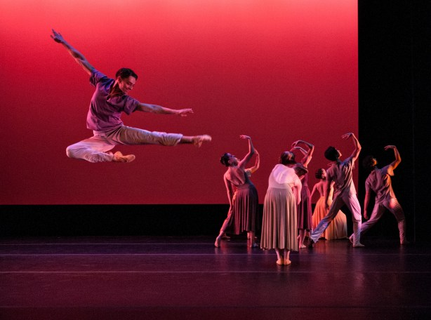 ARC Dance company dancers in Jason Ohlberg's The Blue Room Photo by Paul Sanders