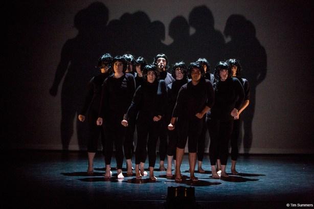 Strictly Seattle intermediate track dancers in Jody Kuehner's Nancy Photo by Tim Summers