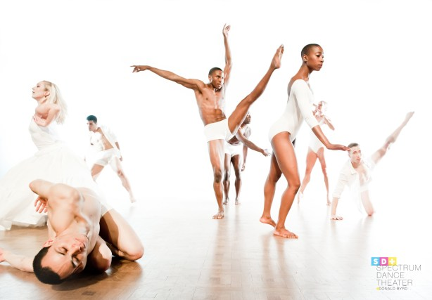 Spectrum dancers in LOVE Photo by Nate Watters