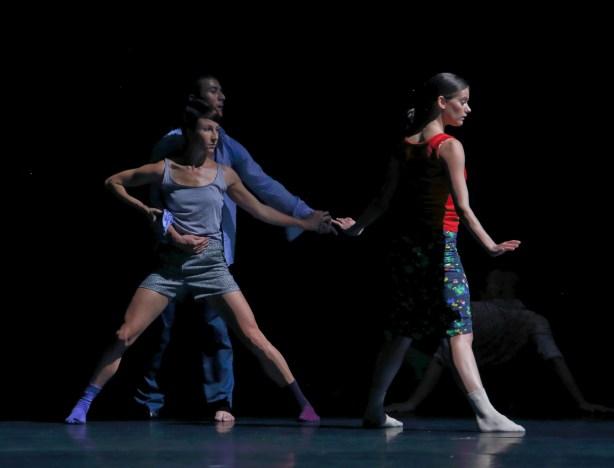 Lyon Opera Ballet in Emanuel Gat's Sunshine Photo by Michel Cavalca