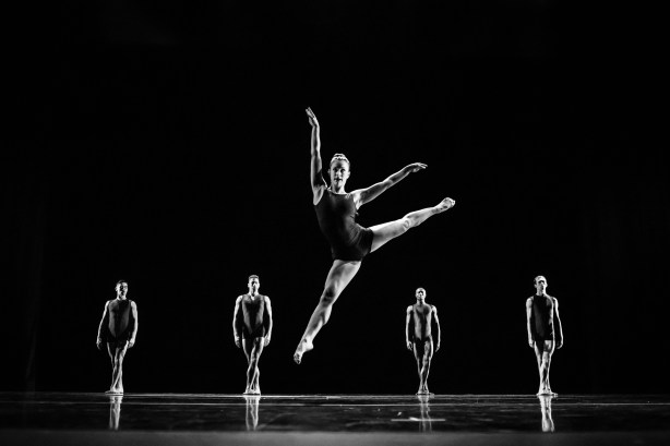 Dancers in Donald Byrd's Dance, Dance, Dance  Photo by Tino Tran