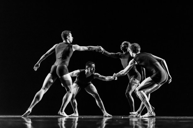 Dancers in Donald Byrd's Dance, Dance, Dance Photo by Tino Tran