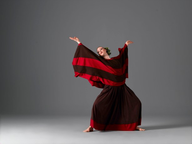 Katherine Crockett in Martha Graham's Cave of the Heart, Photo by John Deane