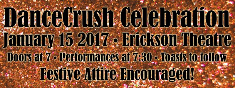 DanceCrush Celebration NEW Info Banner