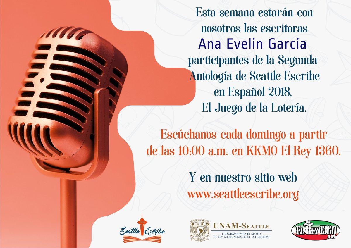 Ana Evelin foto de la radio