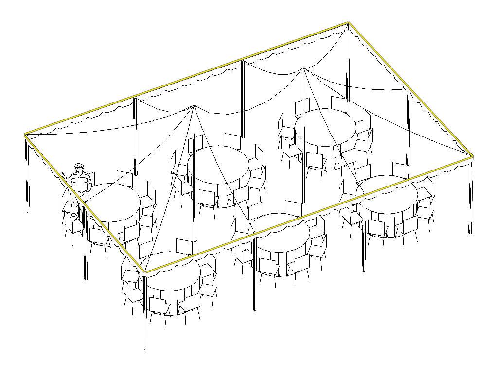 Creative Tent Lighting
