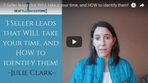 3 Seller leads that WILL take a your time, and HOW to identify them