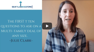 The FIRST ten questions to ask on a Multi- family deal of any size
