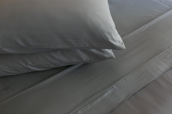 sheet set grey