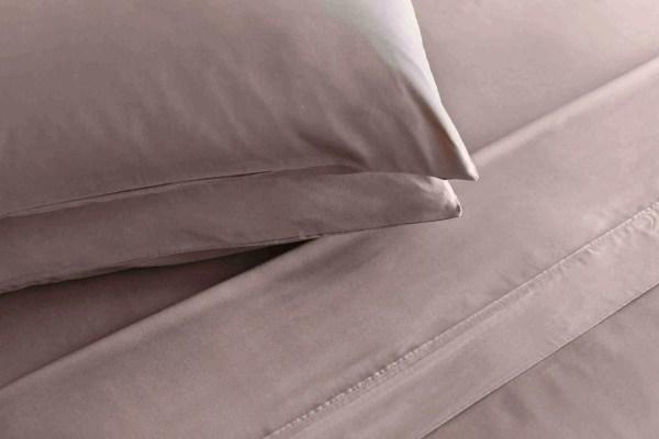 sheet set mocha