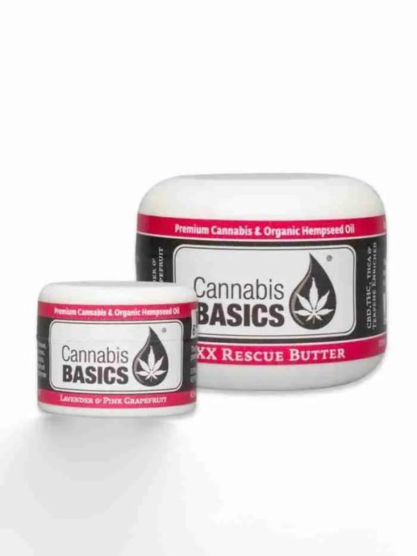 Cannabis Basics Rescue Butter