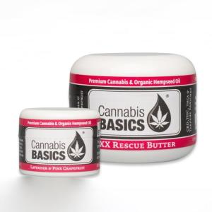 Cannabis Basics Rescue Butter