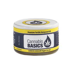 Cannabis Basics Lemon Dream Sugar Scrub