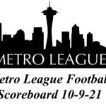Metro League Football Roundup (Updated 10-13-21)