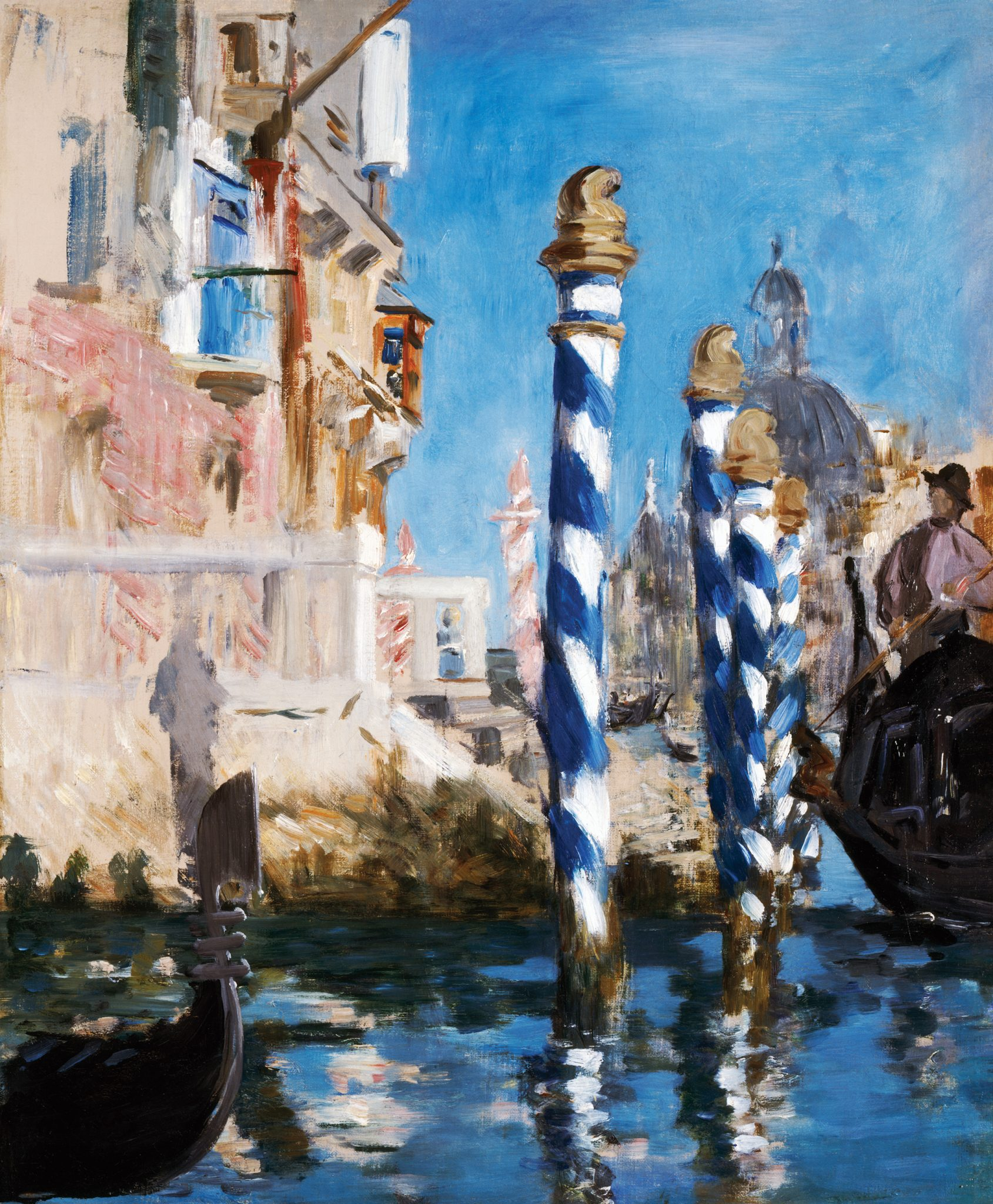 View in Venice-The Grand Canal, 1874, Edouard Manet, French, 1832-1883, Paul G. Allen Family Collection.