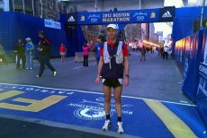 Uli Steidl Wins Masters At 2012 Boston Marathon