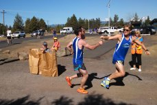 #SackLunch at the 2015 Bend Beer Chase