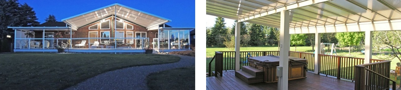 Puget Sound ACRYLIC PATIO COVERS