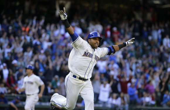 Seattle Mariners:  Nelson Cruz named American League Player of the Month