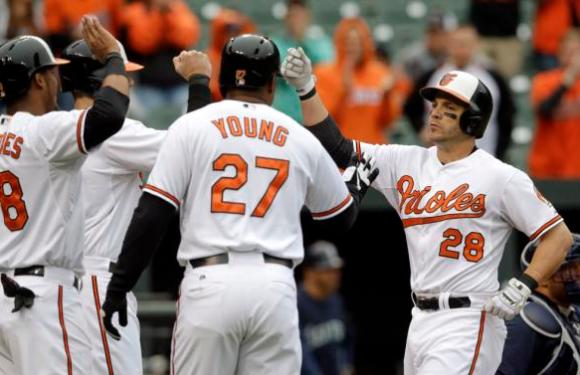 Seattle Mariners 4 Baltimore Orioles 5: O's Steve Pierces the Mariners Heart with a Grand Slam
