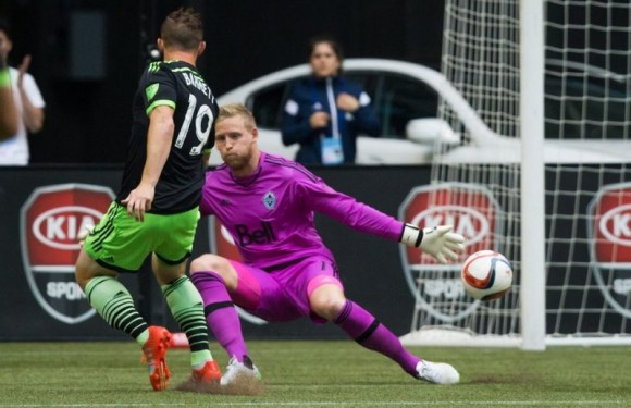 Seattle Sounders:  Chad Barrett's Earns MLS Player of the Week with Brace Against Vancouver