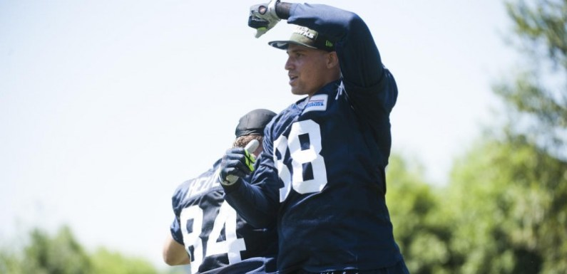 Seattle Seahawks:  The Jimmy (Graham) is listed on the NFL top 100
