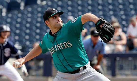 (Seattle Mariners Pitcher Nate Karns)