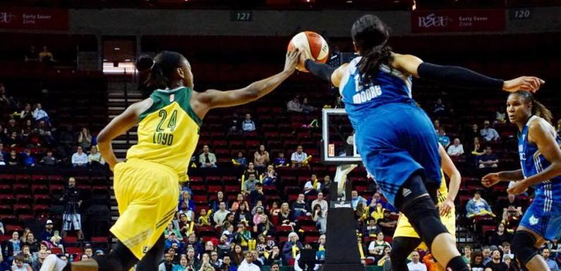 Their Olympians were better than our Olympians, Storm get pounded by #1 Lynx, lose 100-77