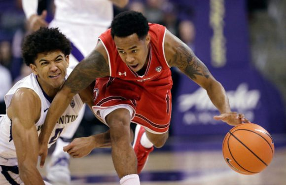 Huskies drop 3rd straight, lose to Utah 70-58