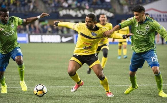 Second half onslaught powers Sounders past Santa Tecla in CCL play