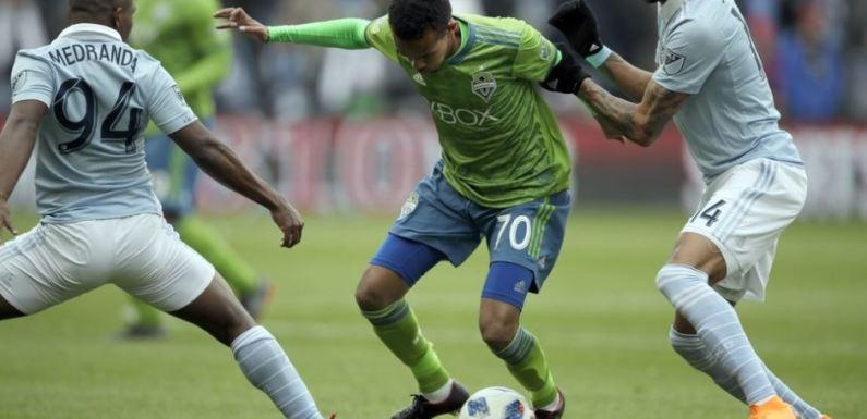 Sounders get 1st point of the season, earn tie vs Sporting