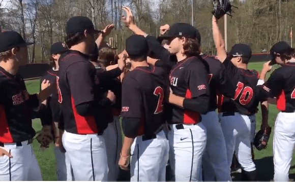 Seattle University's game against the Air Force Academy turns into a double header and they win them both!