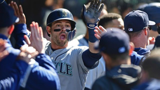 Haniger and Diaz power the Mariners to 3 wins in Cleveland
