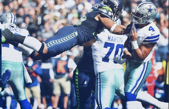 Seahawks defense gets 1s win of the year with a 24-13 domination over the Cowboys