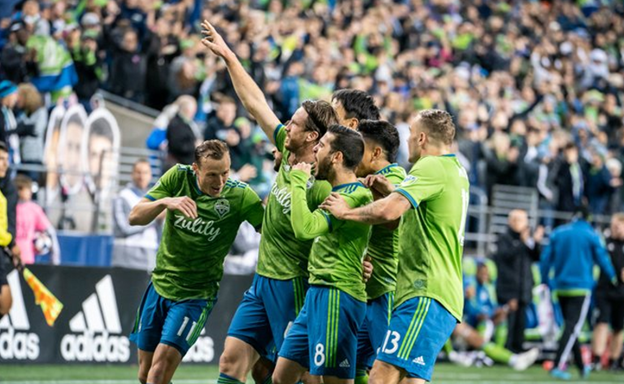 Sounders drop RSL 2-0 in MLS semi-finals