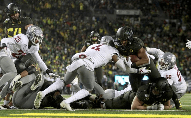 """Verdell (Justin Who?) Out-Runs the """"Speed D"""" as WSU Loses 37-35!"""
