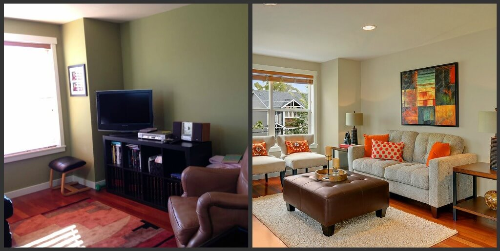 Green Lake Townhouse Living Room
