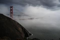 So happy to see the fog around the bridge